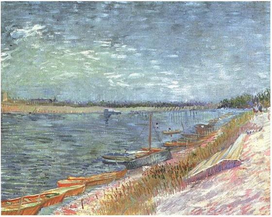 Rowing Boats van Gogh