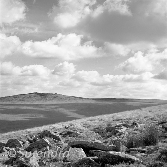 Steeperton Tor from East Mill Tor, Dartmoor, UK