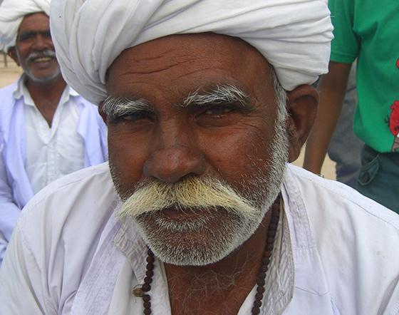 Indian man photo by Angelita Piatti