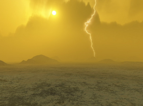 Lightning on Venus