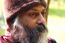 Osho brown hat Feat