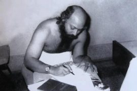 Osho writing