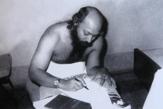 Osho writing