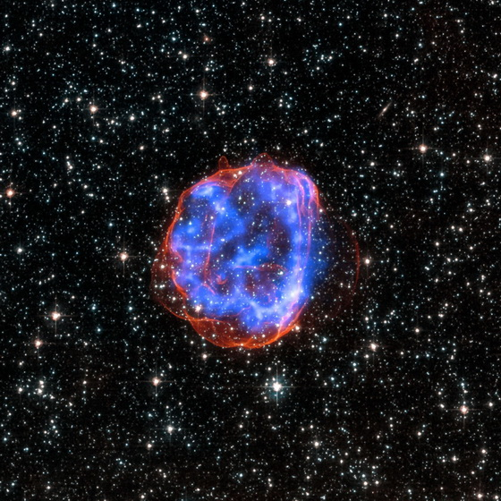 Remnant Star gone Supernova