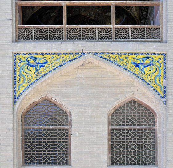 Hasht Behesht Palace - decorated outer walls