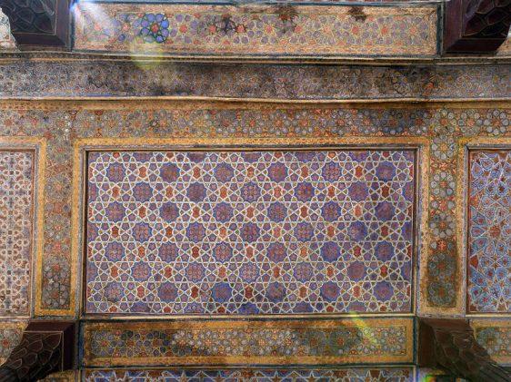 Chehel Sotoun Palace - ceiling