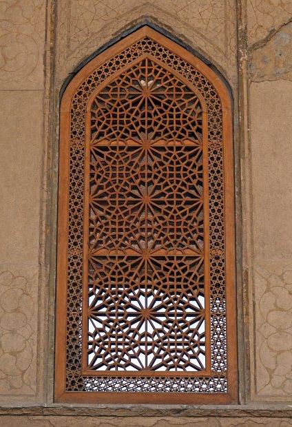 Isfahan Palace - lattice windows