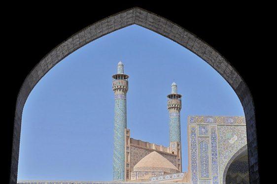 Masjed-e Emam - the main minarets