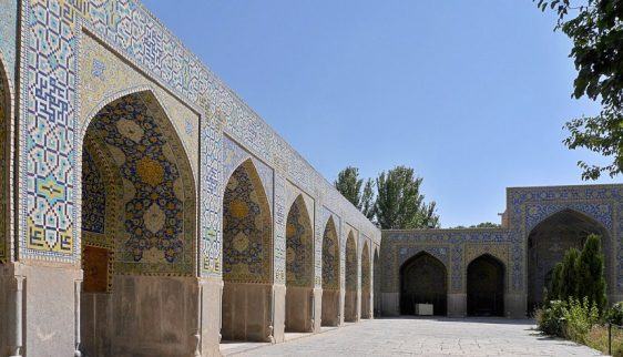 Masjed-e Emam - one of the courtyards