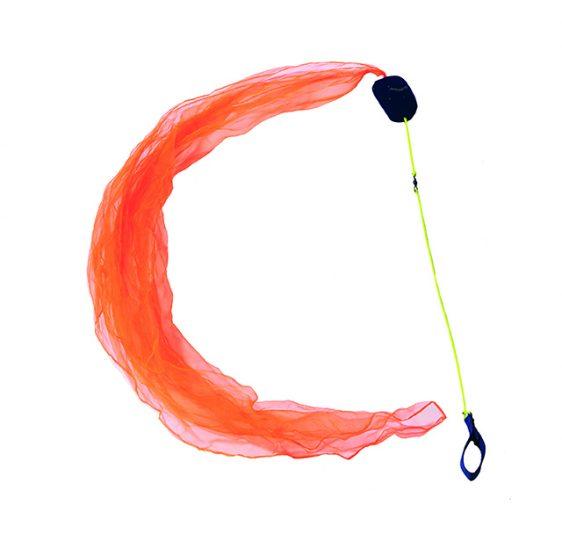 100 flow-motions-Poi-orange-schwarzlicht-aktiv