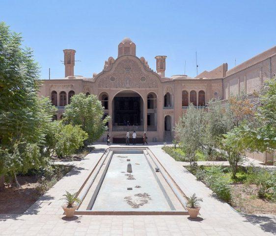 Borujerdis House - inner courtyard
