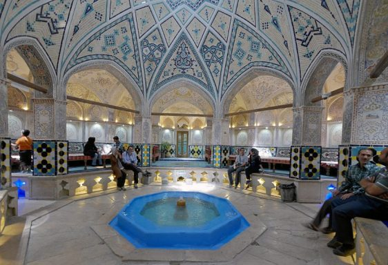 The Old Hamam in Kashan