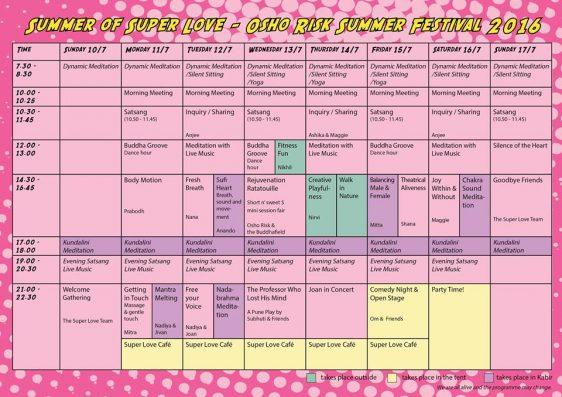 Risk Festival Programme