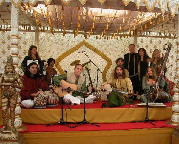 Playing at Paul McCartney's wedding