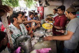 Biriyani street food
