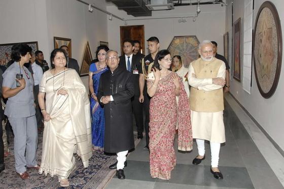 Pranab Mukherjee, Pratiksha, Narendra Modi