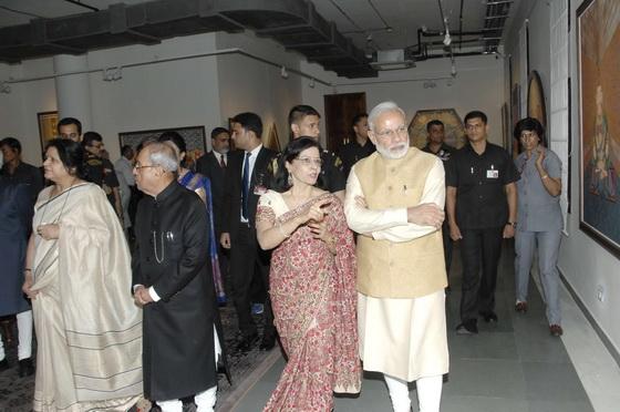 Pratisksha and Narendra Modi