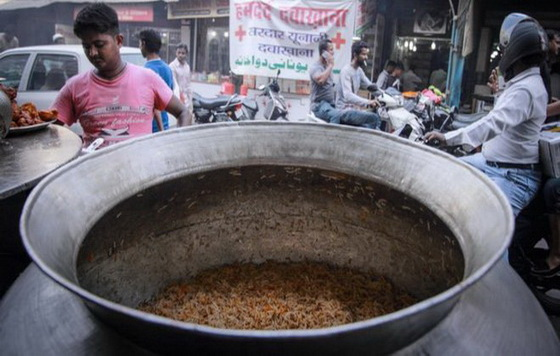 Food stall biriyani