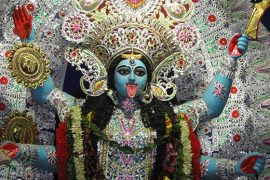 Goddess Kali photo by Piyal Kundu