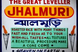 Jhal muri poster