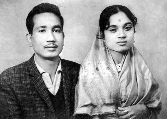 Naina's parents