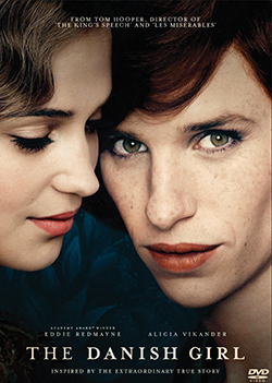 The Danish Girl DVD civer