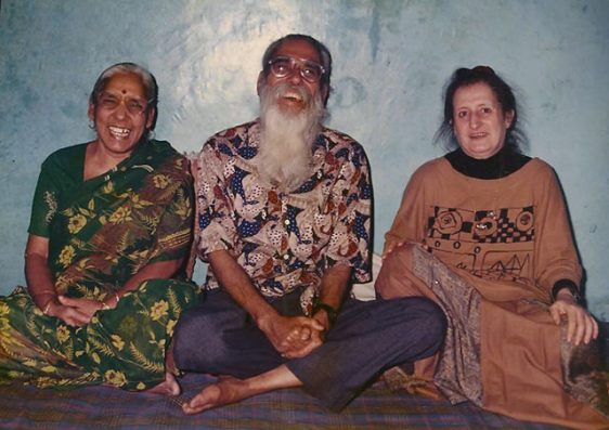 Prasanta, Teertha and Suha in 1994