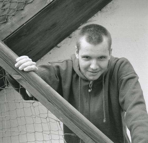 Suchet aged 17