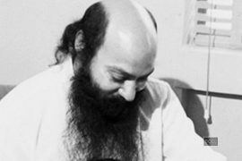 Osho looking down