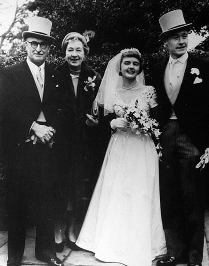 wedding with Helen