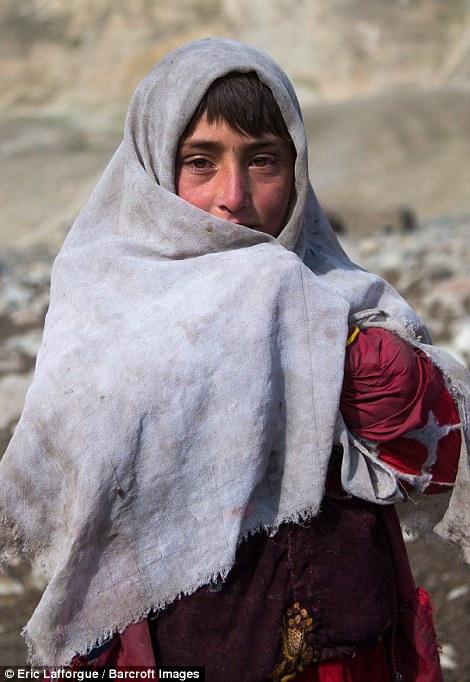 Wakhi nomad girl