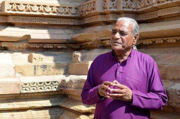 Swami Ganga in Khajuraho