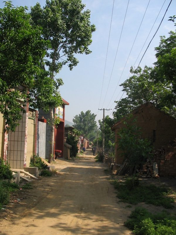 New part of the village