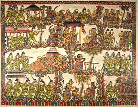 Balinese Painting