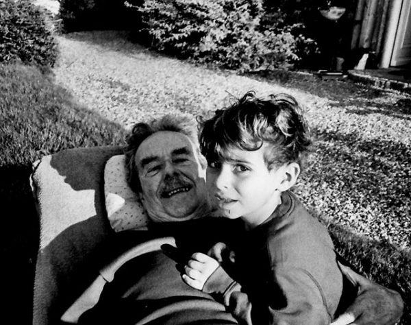 with grandson Livio