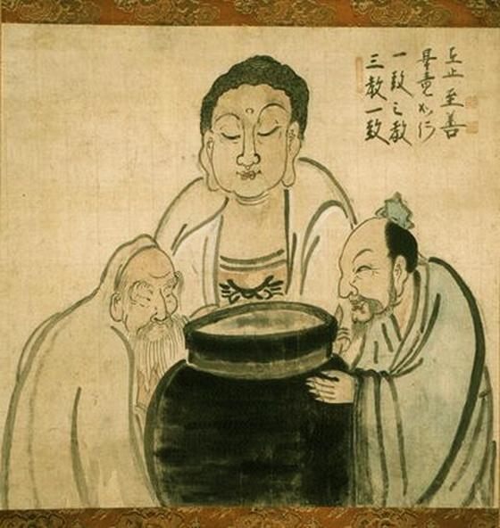 Buddha, Lao Tzu, Confucius
