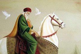 King horseback Feat