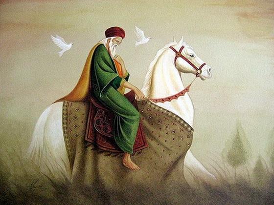 King horseback
