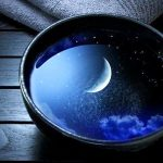 Moon in Bowl of water