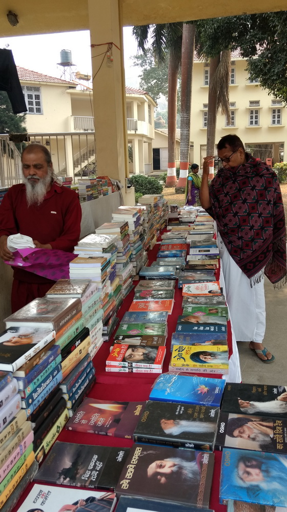 Gyan Anugrah at book stall