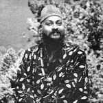 Osho sitting on horse Feat