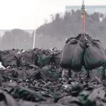 Waste bags Fukushima