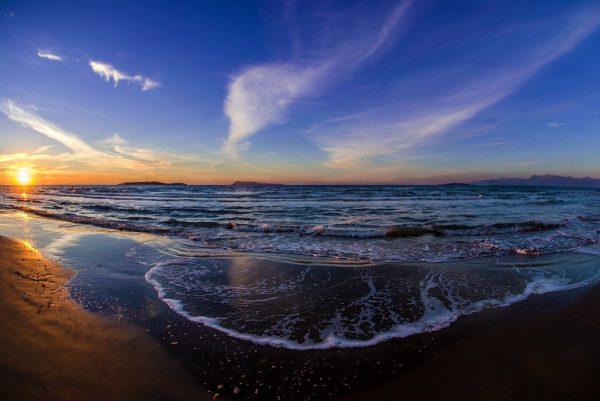 000 Sunset Fisheye