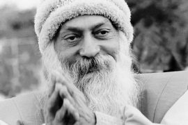 Osho smiling 2 Feat