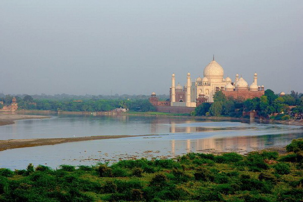 Yamuna River at Agra
