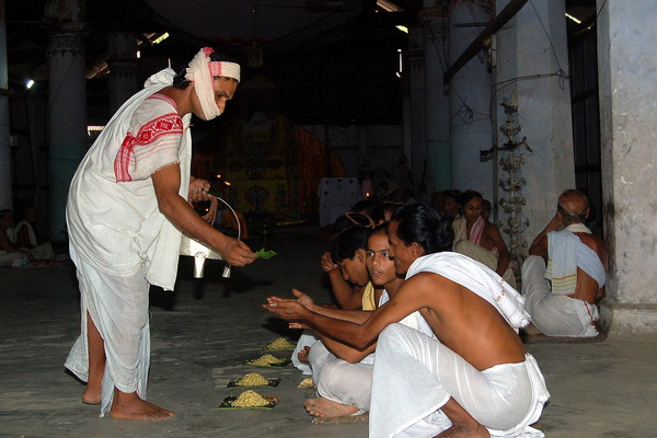Distribution of Prasad