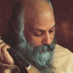 Osho with instrument