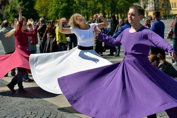 040 Sufi Whirling at Palace Square 12