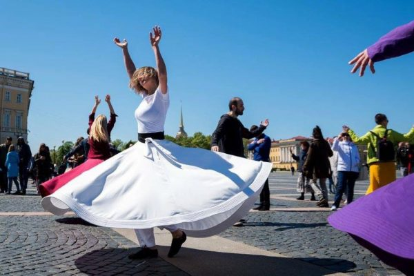 050 Sufi Whirling at Palace Square 8