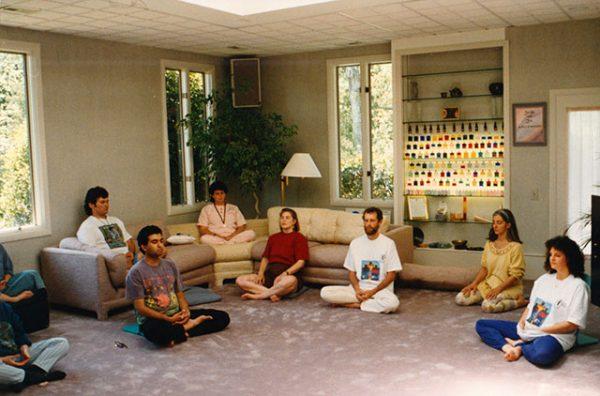 1015 Meditating in Lani house